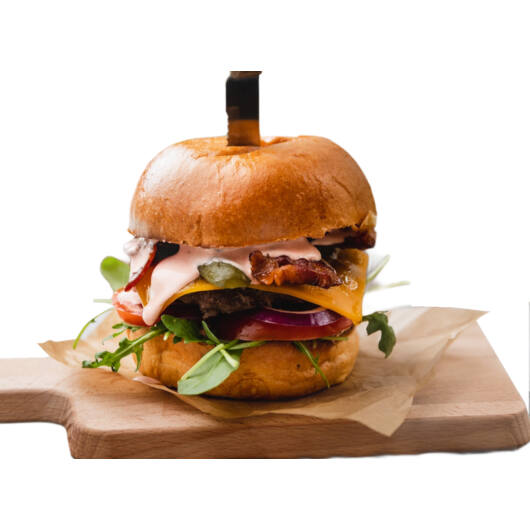Angus BBQ burger