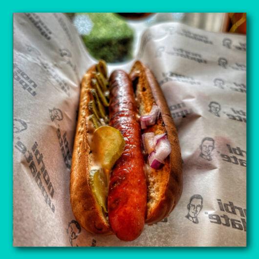 Bol-dog hot-dog