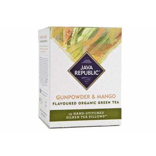 Java Republic - Gunpowder & Mango organikus zöldtea
