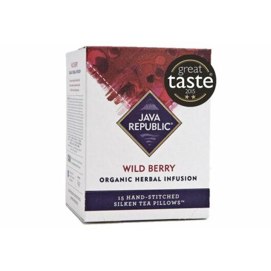 Java Republic - Wild Berry organikus gyógynövényes tea